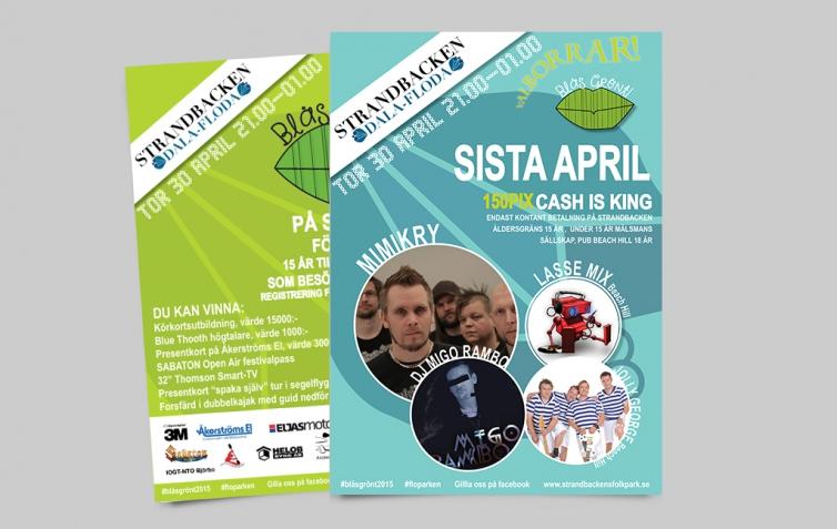 Last April posters