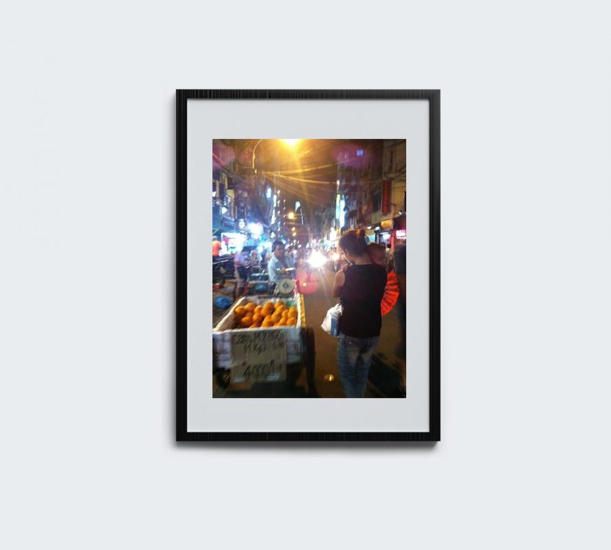 Photograph – Vietnamese street