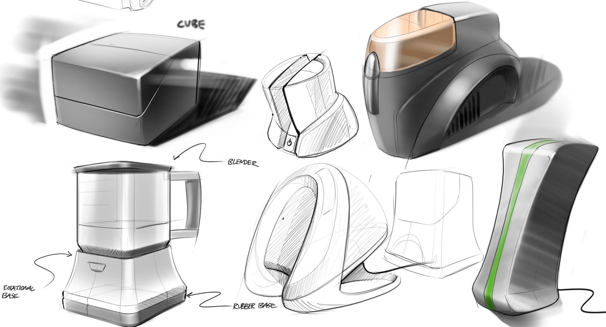 Industrial Design Sketches. Furniture Brad Gressel At Coroflotcom ...