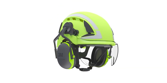 X5000 secure fit helmet
