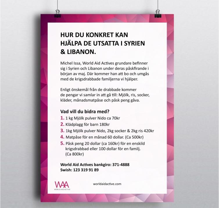 WAA poster